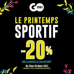 Go Sport coupon à Bouskoura ( Expiré )