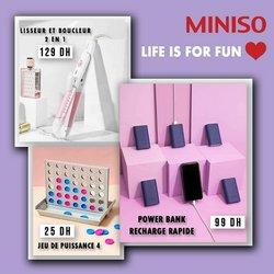 Miniso coupon à Fahs-Anjra ( 18 jours de plus )