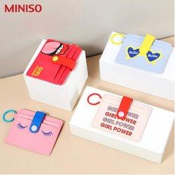 Promos de Miniso dans le prospectus à Miniso ( Plus d'un mois)
