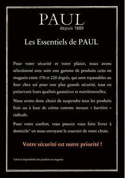 Paul coupon ( 15 jours de plus )