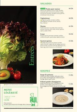 Promos de Restaurants dans le prospectus à Paul ( Plus d'un mois )