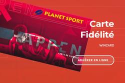 Promos de Planet Sport dans le prospectus à Marrakech