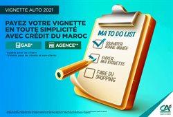 Credit du Maroc coupon ( 20 jours de plus )
