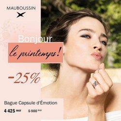 Mauboussin coupon à Témara ( 21 jours de plus )