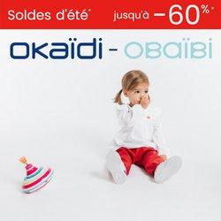 Promos de Vetêments, chaussures et accessoires dans le prospectus à Okaidi ( Expire ce jour)