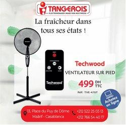 Promos de Électroménager et Technologie dans le prospectus à Tangerois ( Expire demain)