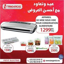 Promos de Électroménager et Technologie dans le prospectus à Tangerois ( 3 jours de plus)