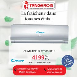 Promos de Électroménager et Technologie dans le prospectus à Tangerois ( Publié hier)