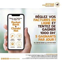 Promos de Banques dans le prospectus de Banque Populaire à Casablanca ( 9 jours de plus )