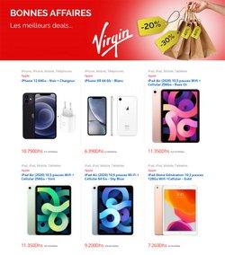 Promos de Électroménager et Technologie dans le prospectus à Virgin Megastore ( 3 jours de plus)