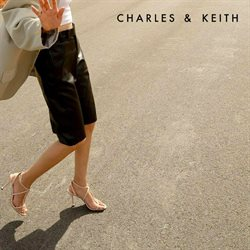 Charles & Keith coupon ( Plus d'un mois )