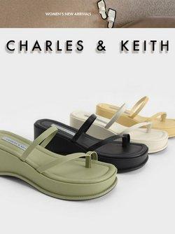 Promos de Vetêments, chaussures et accessoires dans le prospectus à Charles & Keith ( Expire ce jour)