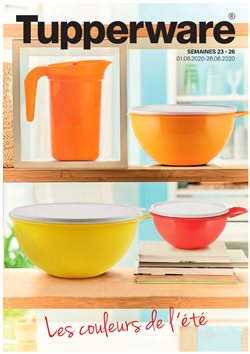 Tupperware coupon ( 23 jours de plus )