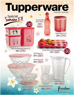 Tupperware coupon ( Expire ce jour )