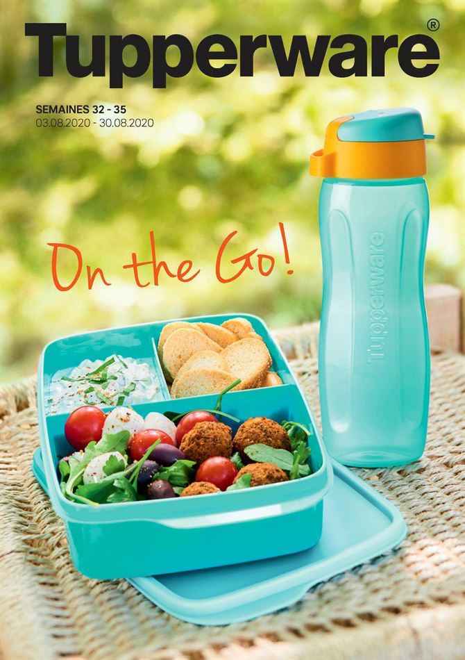 Catalogue Promotion Tupperware DU 13/08/2020 AU 30/08/2020