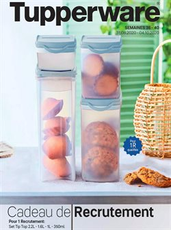 Tupperware coupon ( 12 jours de plus )