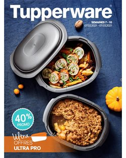 Tupperware coupon ( 8 jours de plus )