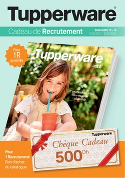Tupperware coupon ( 20 jours de plus )