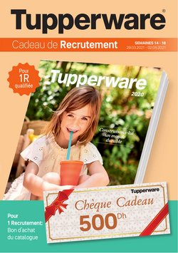 Tupperware coupon ( 9 jours de plus )