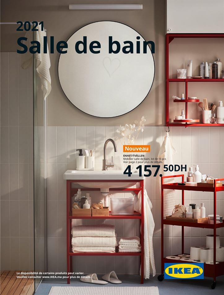 Salles de bain 2021
