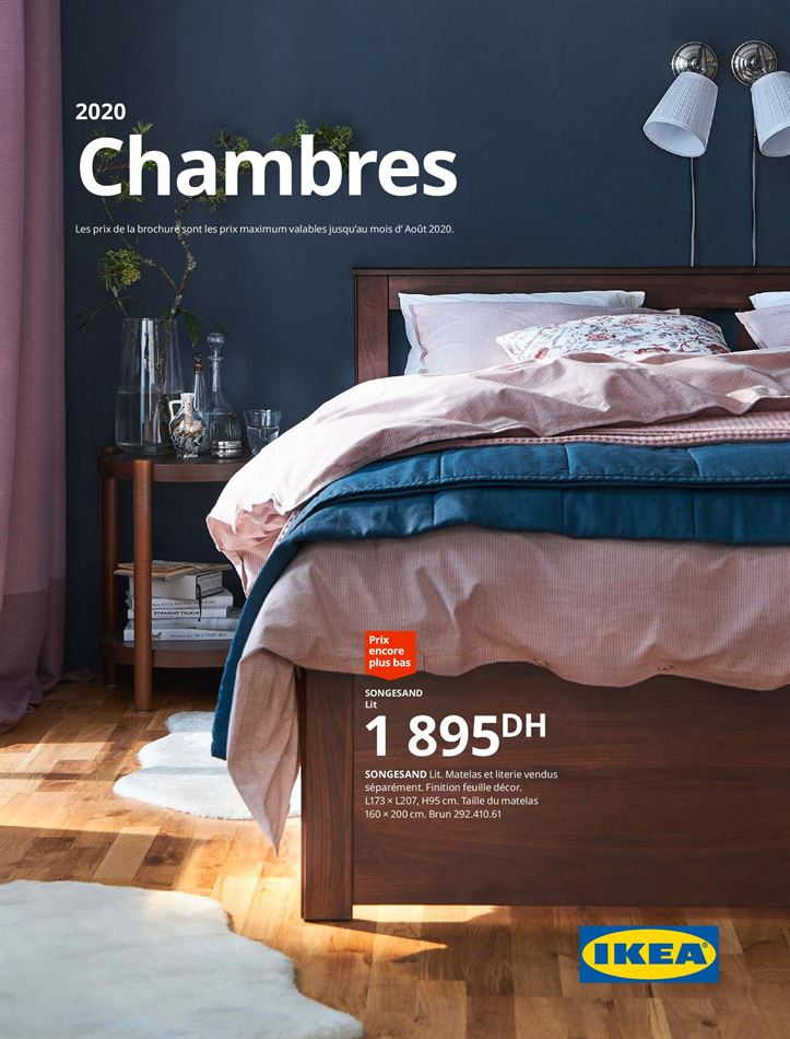 Catalogue Chambres IKEA DU 07/12/2020 AU 31/08/2020