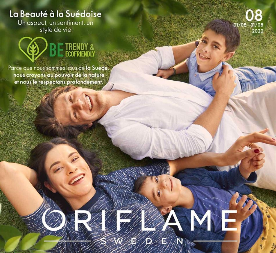Catalogue Oriflame 01/08/2020 AU 31/08/2020
