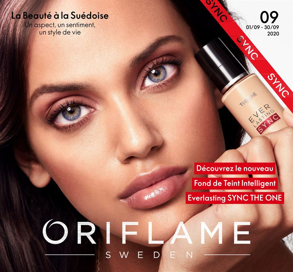 Catalogue Oriflame DU 01/09.2020 AU 30/09/2020