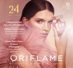 Promos de Parfumeries et Beauté dans le prospectus à Oriflame ( 7 jours de plus)