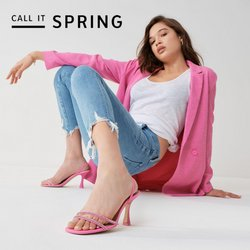 Promos de Vetêments, chaussures et accessoires dans le prospectus à Call It Spring ( Publié hier )
