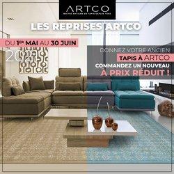 Promos de ARTCO dans le prospectus à ARTCO ( 11 jours de plus)
