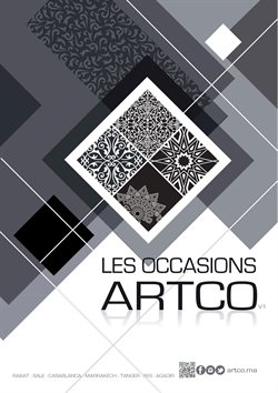 ARTCO coupon ( Plus d'un mois )