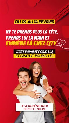 City Club coupon ( Expiré )