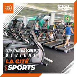 Promos de Sport dans le prospectus à City Club ( 4 jours de plus)