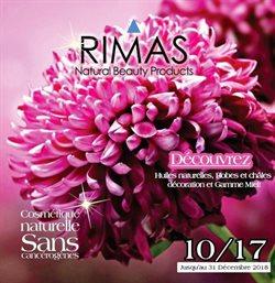 Promos de Rimas dans le prospectus à Casablanca
