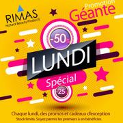 Promos de Rimas dans le prospectus à Casablanca 50% de réduction 18f7e40ebe4
