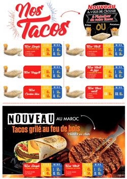 Tacos de France coupon ( Plus d'un mois )