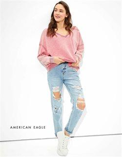 Promos de Vetêments, chaussures et accessoires dans le prospectus à American Eagle Outfitters ( Il y a 2 jours )