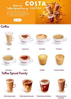 Costa Coffee coupon ( 27 jours de plus )