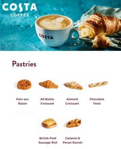 Promos de Costa Coffee dans le prospectus à Costa Coffee ( Plus d'un mois)