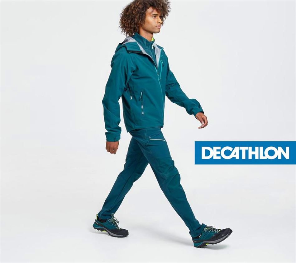 Catalogue New Men's Jackets DECATHLON 13/06/2020 AU 13/08/2020