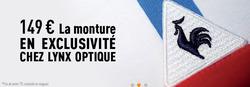 Promos de Lynx Optique dans le prospectus à Casablanca