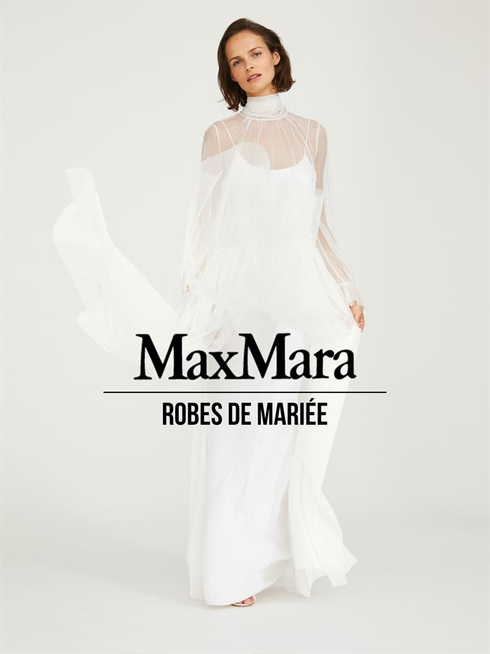 Catalogue Robes de Mariée Max Mara 10/07/2020 AU 10/09/2020