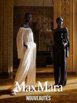 Promos de Vetêments, chaussures et accessoires dans le prospectus à MaxMara ( Il y a 2 jours )