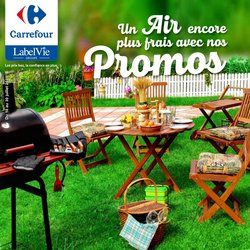 Promos de Supermarchés dans le prospectus à Carrefour ( 3 jours de plus)