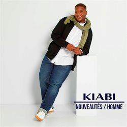 Promos de Vetêments, chaussures et accessoires dans le prospectus à Kiabi ( Plus d'un mois)