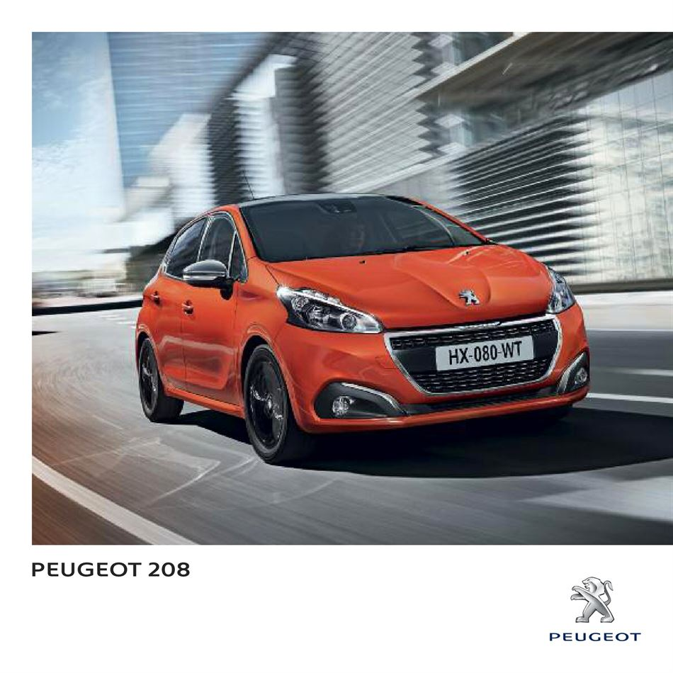 Catalogue Peugeot 208 Promotion 04/02/2020 AU 28/02/2020