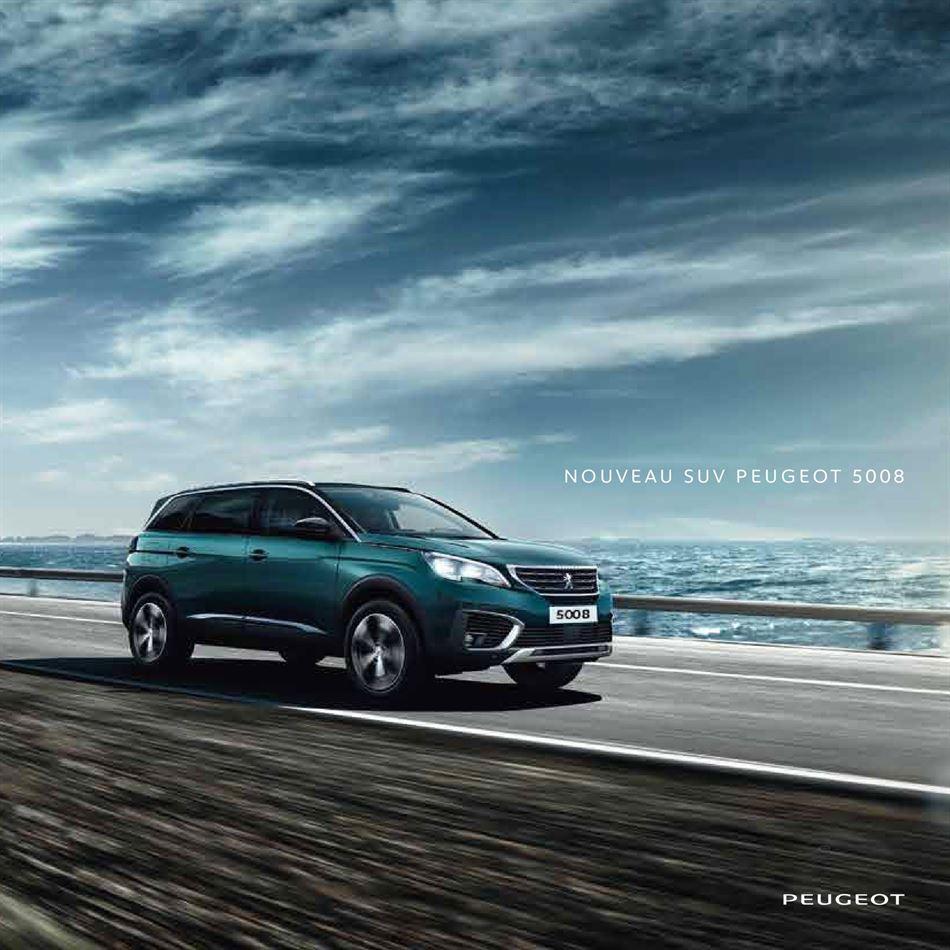 Catalogue Nouveau Suv Peugeot 5008 Promotion 04/02/2020 AU 28/08/2020