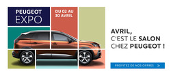 Promos de Peugeot dans le prospectus à Casablanca