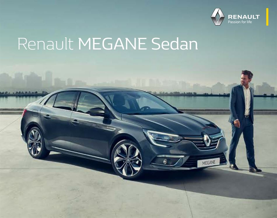 Catalogue Renault Megane Sedan Promotion 27/04/2020 AU 15/11/2020