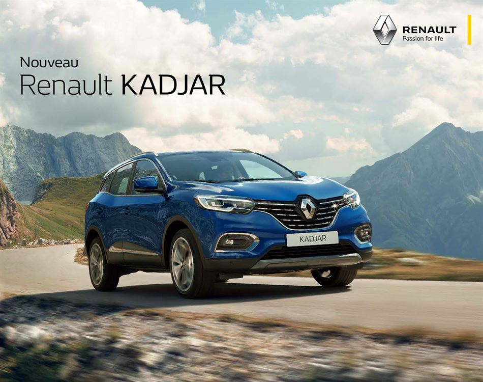 Catalogue Renault Kadjar Promotion 06/02/2020 AU 15/11/2020